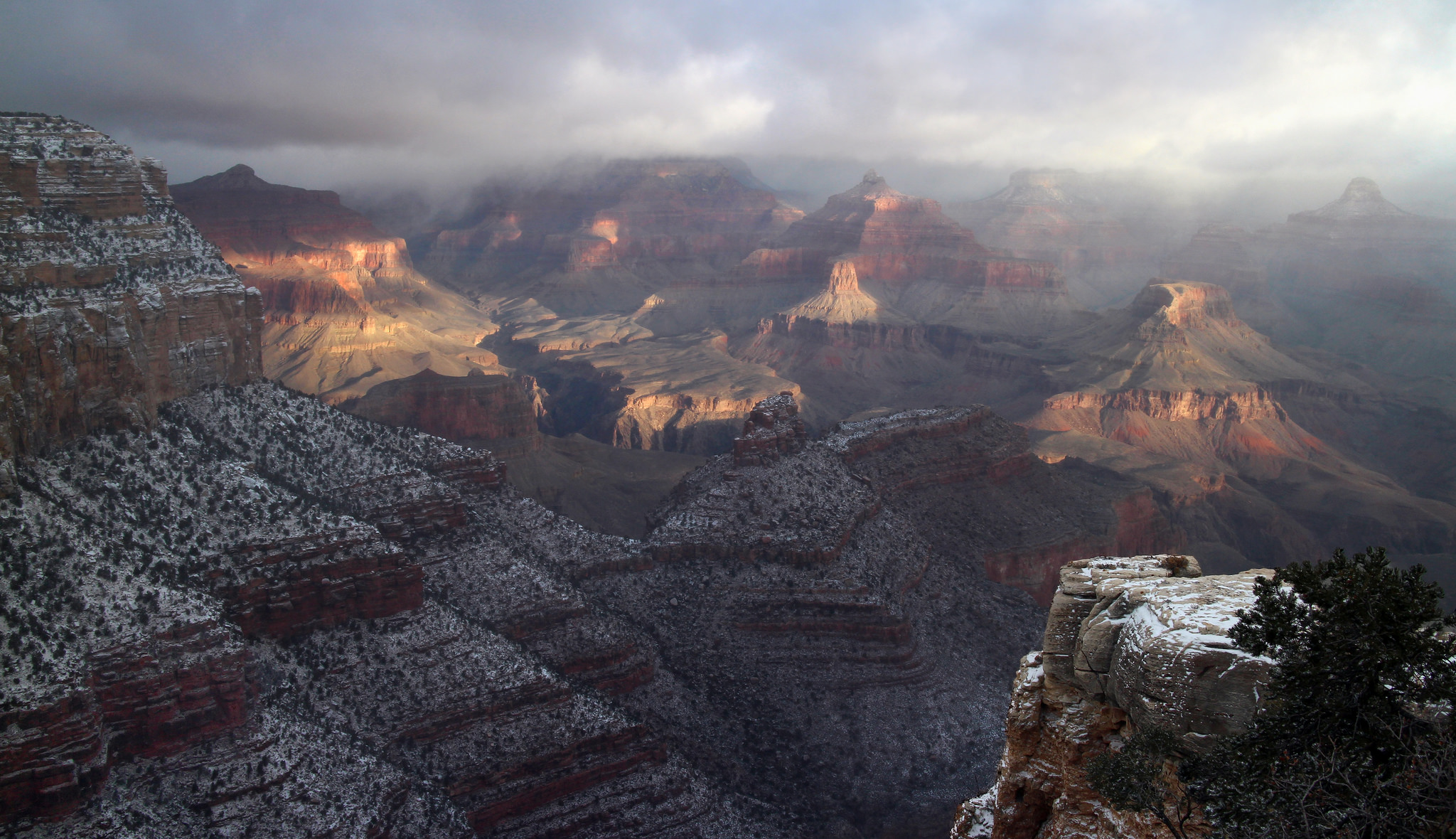 Grand Canyon National Park Reflects Anticipates Another