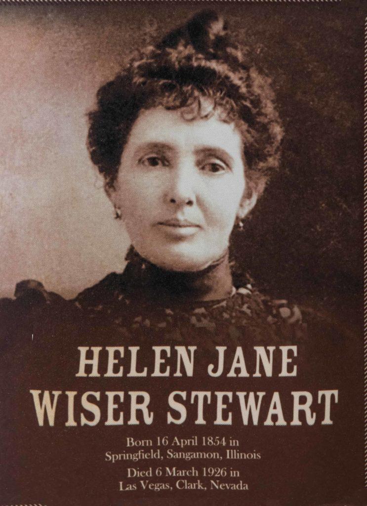 Helen Jane Wiser Stewart, Old Las Vegas Mormon Fort State Historic Park, Las Vegas, Nevada, photo undated | Photo courtesy of Old Las Vegas Mormon Fort State Park, St. George News