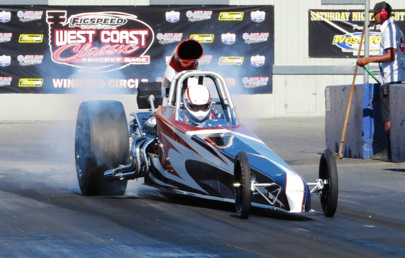 Tanner Theobald races in his Super Comp Eliminator Class dragster, date and location not specified | Photo courtesy of Tanner Theobald, St. George News