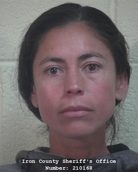 Mirna Deamer, 40, was arrested Monday on allegations she helped steal more than $30,000 from his own business, Cedar City, Utah, De.c. 14, 2016 | Photo courtesy of Iron County Sheriff's Office, St. George / Cedar City News