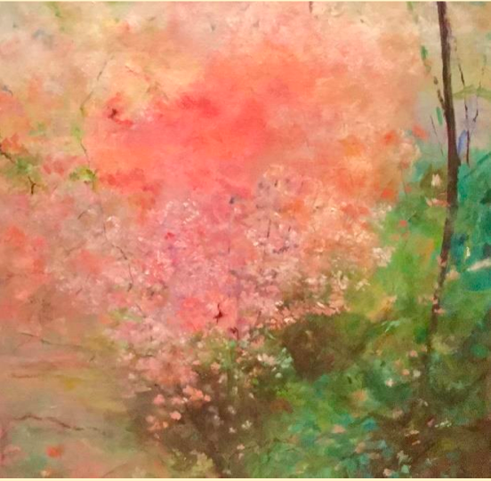 Painting by Sherrie Warren Spinelli, date of photo unspecified | Photo courtesy of Sherrie Warren Spinelli, Arrowhead Gallery, St. George News