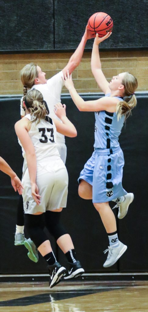Pine View vs. Canyon View, Girl's Basketball, St. George, Utah, Dec. 6, 2016, | Photo by Kevin Luthy, St. George News