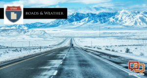 Snowy conditions in high altitudes affect weekend travel