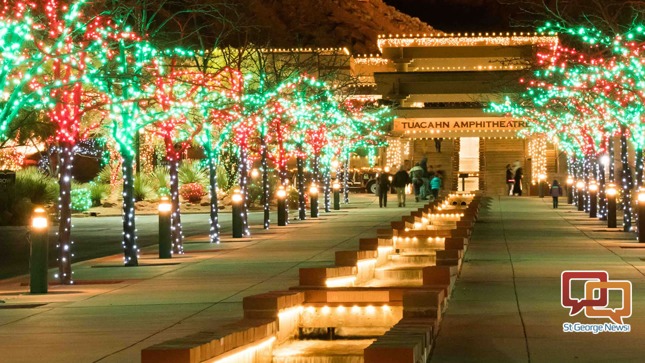 Small Christmas Trees With Lights