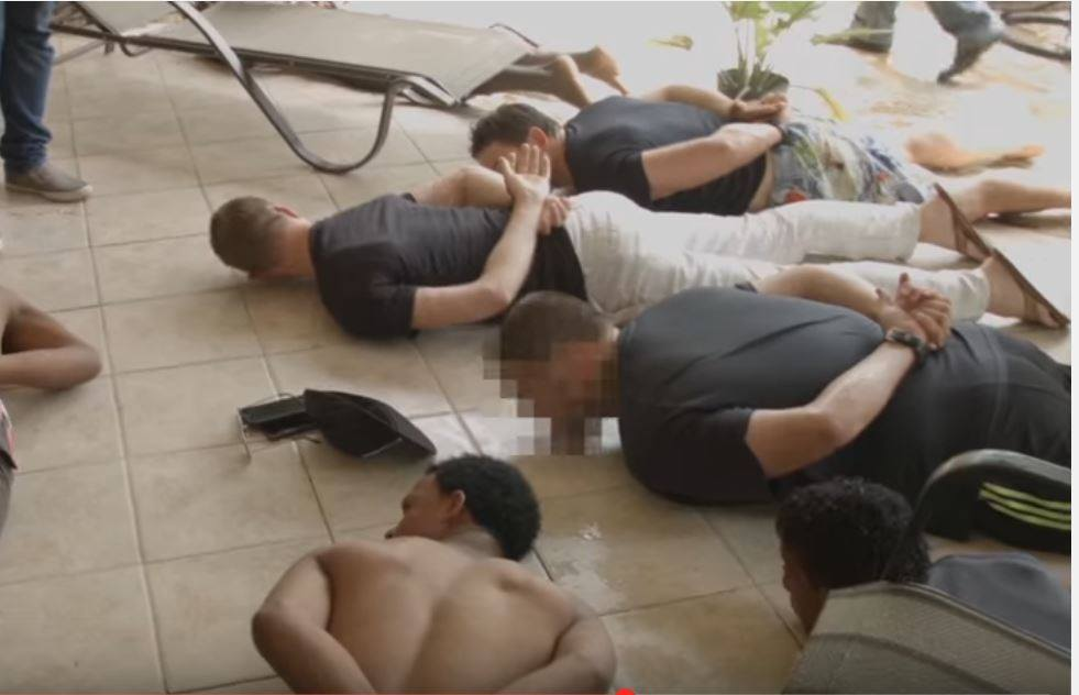 Several men arrested in a sex trafficking sting, date and location unspecified   Photo courtesy of Operation Underground Railroad, St. George News