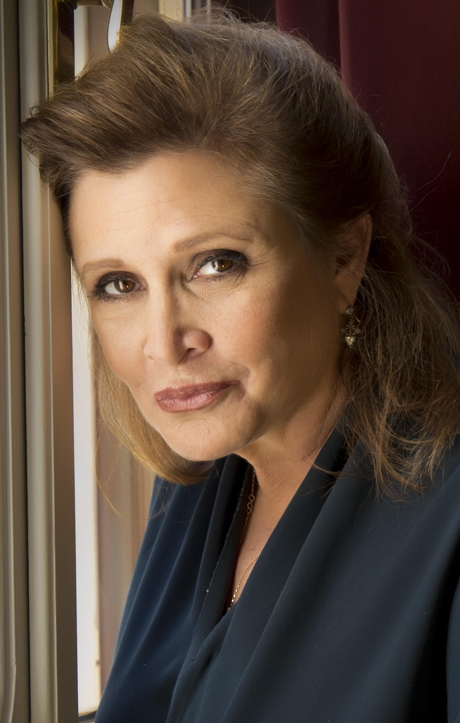 Carrie Fisher portrait. Undated | Public domain photo courtesy of Wikipedia Commons, St. George News