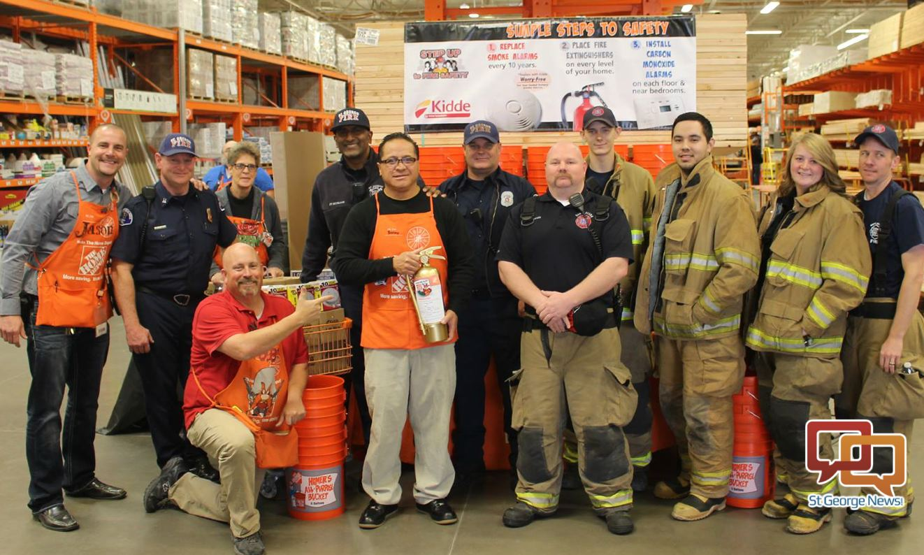 Home Depot Guy Gets The Gold With A Win For 3 Fire Departments Cedar City News