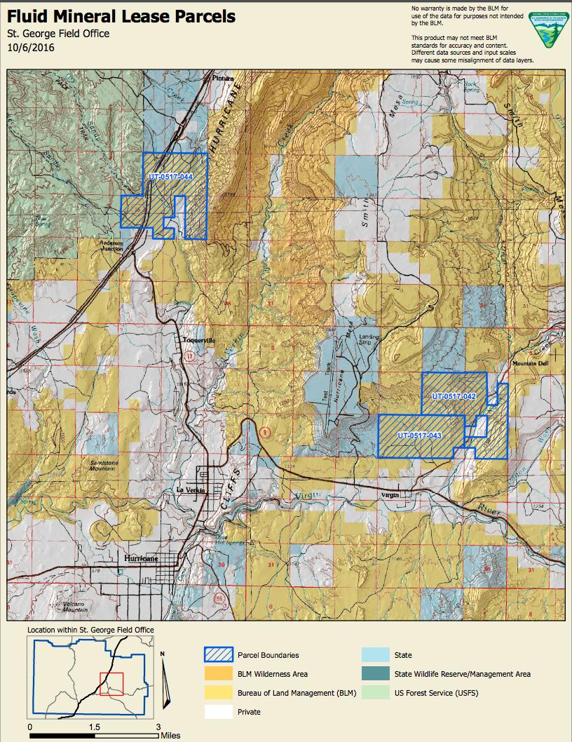Oil Gas Leases Near Zion National Park Blm Announces Decision St George News