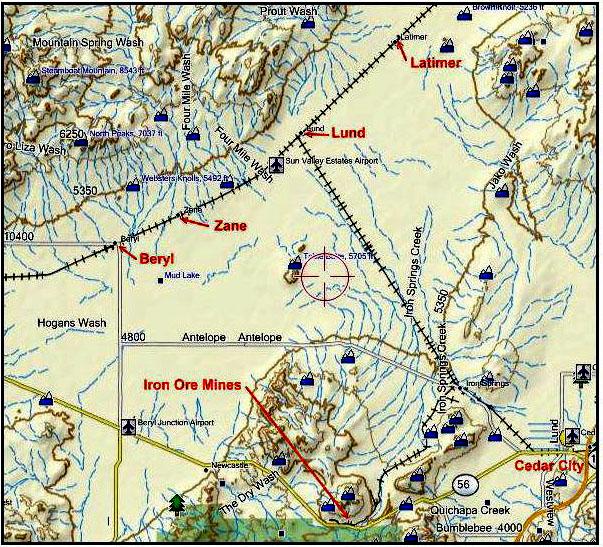 Beryl Utah Map.Zane Day Self Reliant People Of The Escalante Desert Valley St
