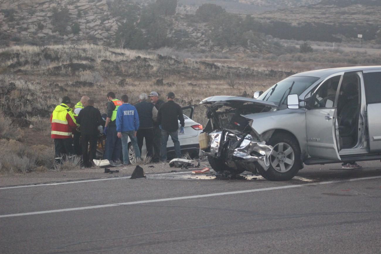 3 injured in SR-18 collision – St George News