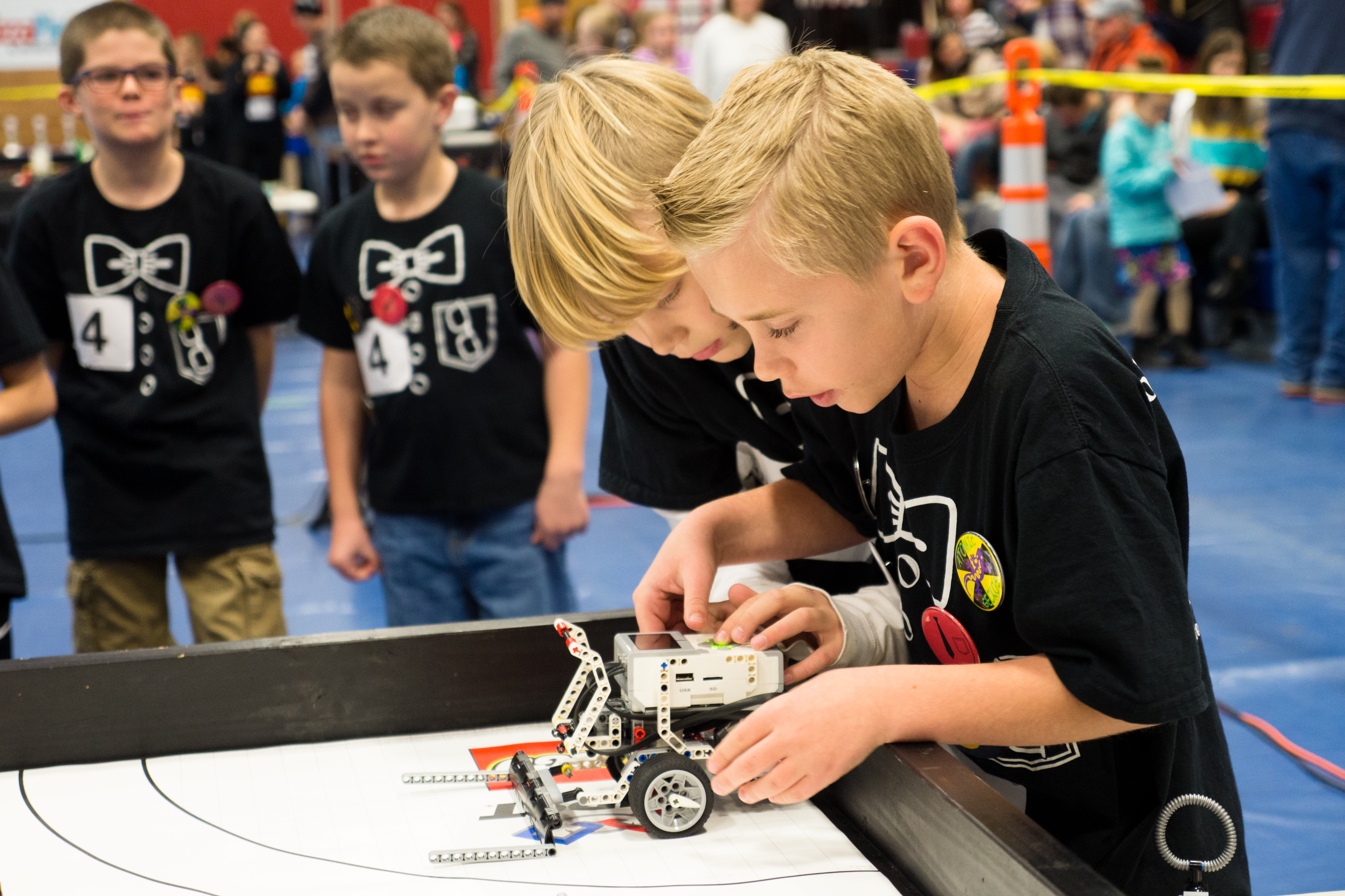 Riverside Robotic Residents compete at the First Lego League competition, Dixie State University, St. George, Utah, Jan. 7, 2017 | Photo by and courtesy of Sterling Jones, St. George News