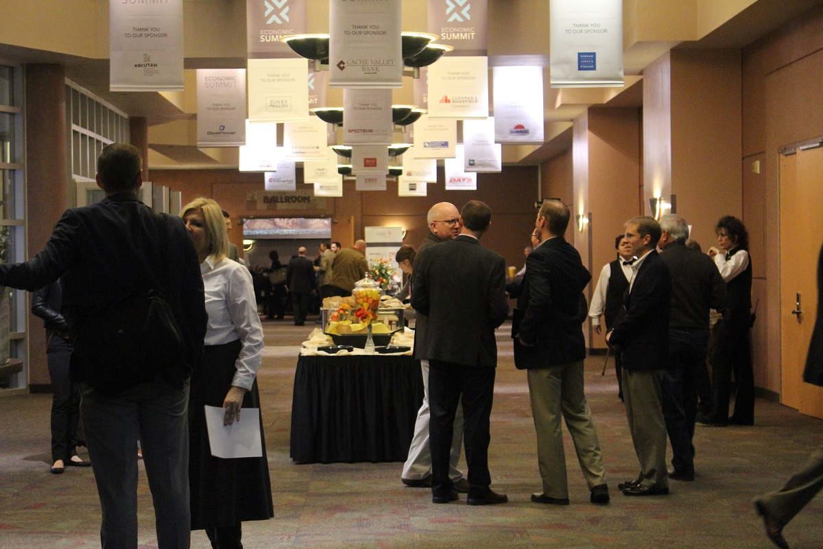 "Networking opportunities and breakout sessions are offered during the 2017   ""St. George Area Economic Summit"" held at the Dixie Center St. George Thursday morning, St. George, Utah, Jan. 12, 2017 