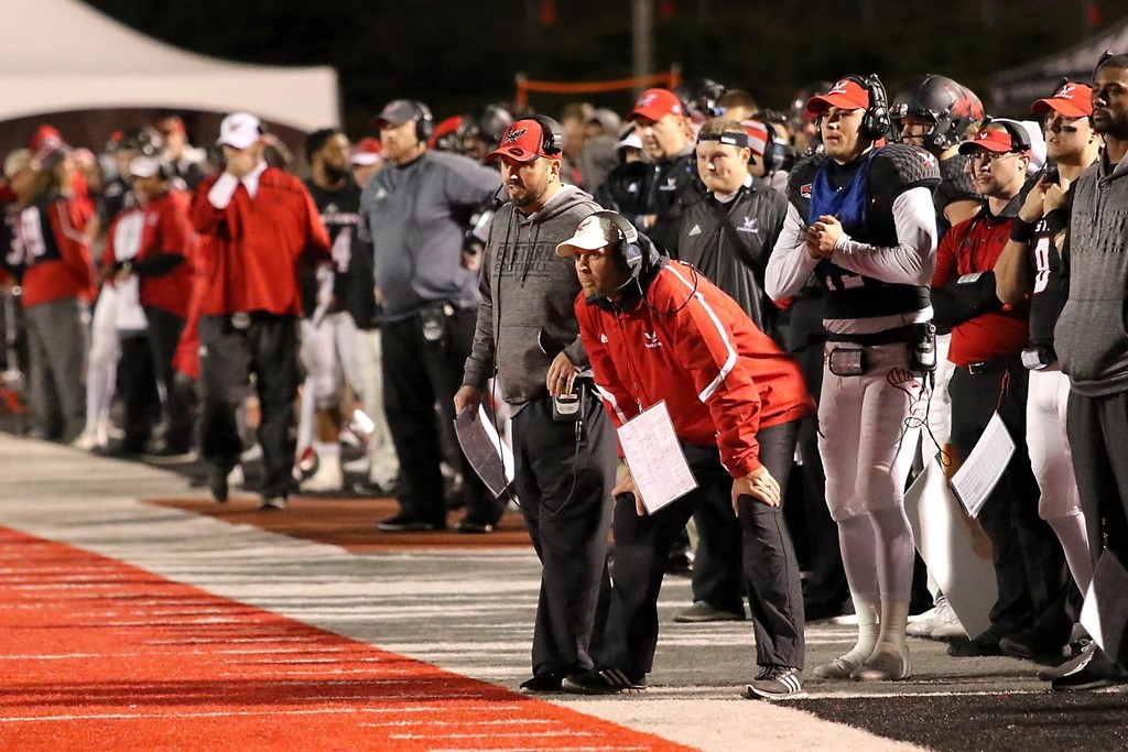 Troy Taylor's offense at Eastern Washington averaged more than 400 yards passing a game last year.
