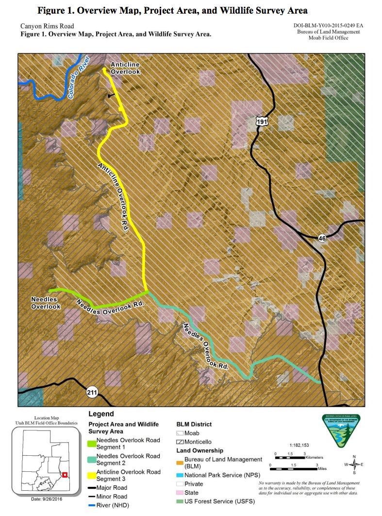 BLM seeks input on Canyon Rims Road improvement project – Utah Channel 3