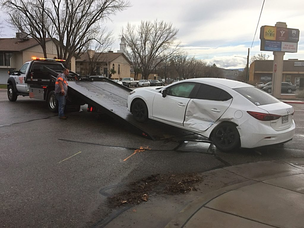 St George Police Respond To 8 Separate Crashes At Same