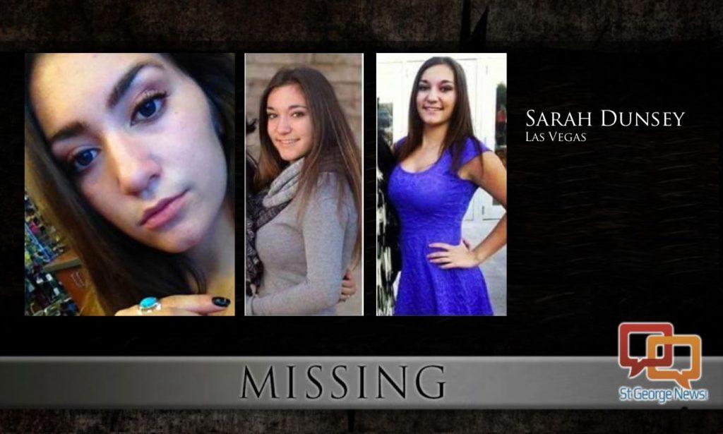 Sarah Dunsey, 17, Missing Since January 15, 2017 - Las Vegas, NV Missing-Sarah-Dunsey-1024x615