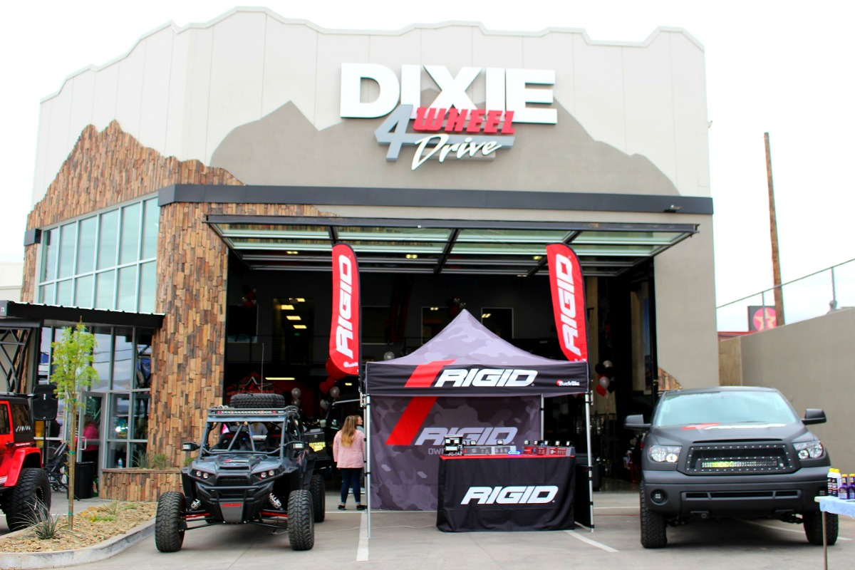 Dixie 4 Wheel Drive Celebrated The Grand Opening Of Its New 12 000 Square Foot Facility Saay St George Utah March 25 2017 Photo By Cody Ers
