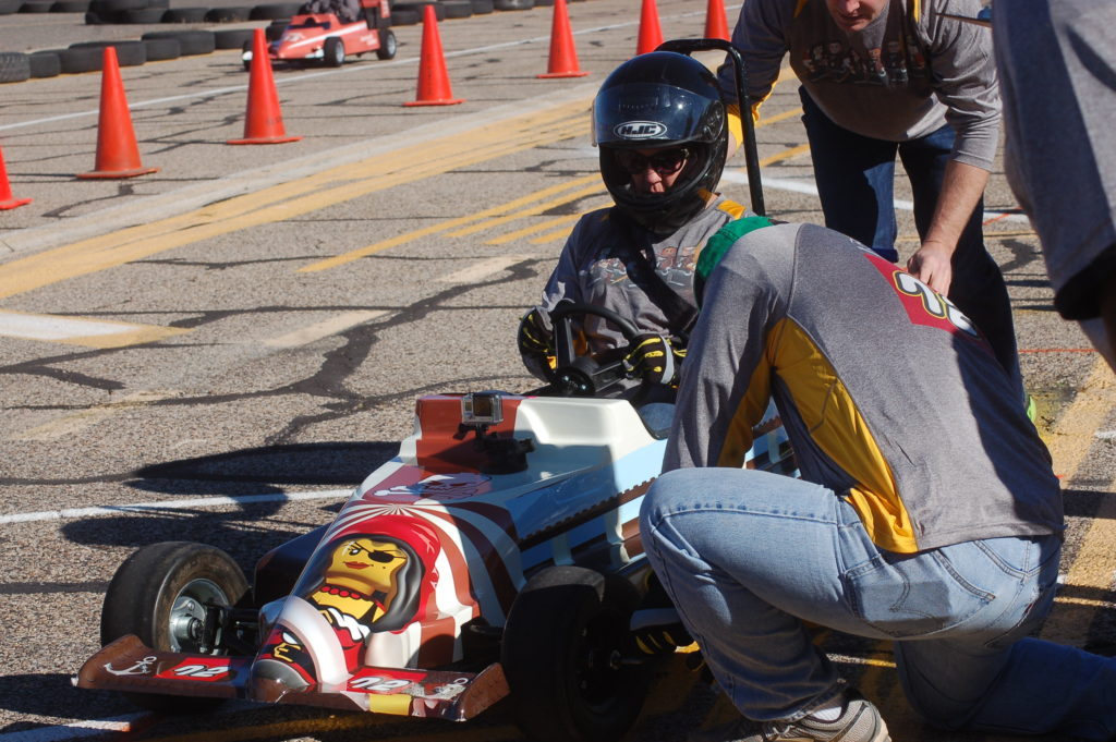 For fun, competition, charity; SkyWest Mini Indy races around ...
