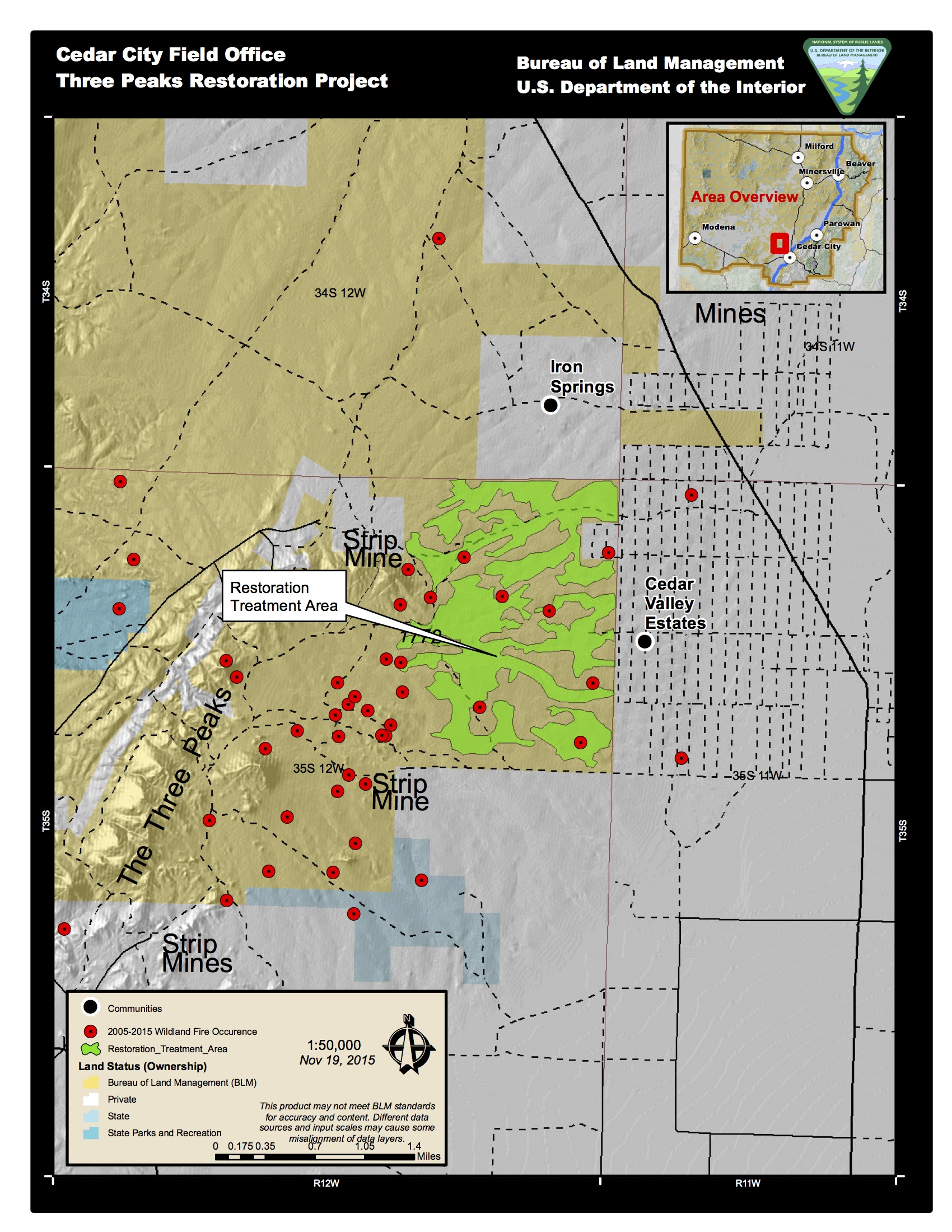 45 Wildfires In 10 Years BLM Conducts Invasive Tree