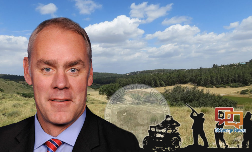 Newly Appointed Interior Secretary Signs Orders Expanding Public Lands Access St George News