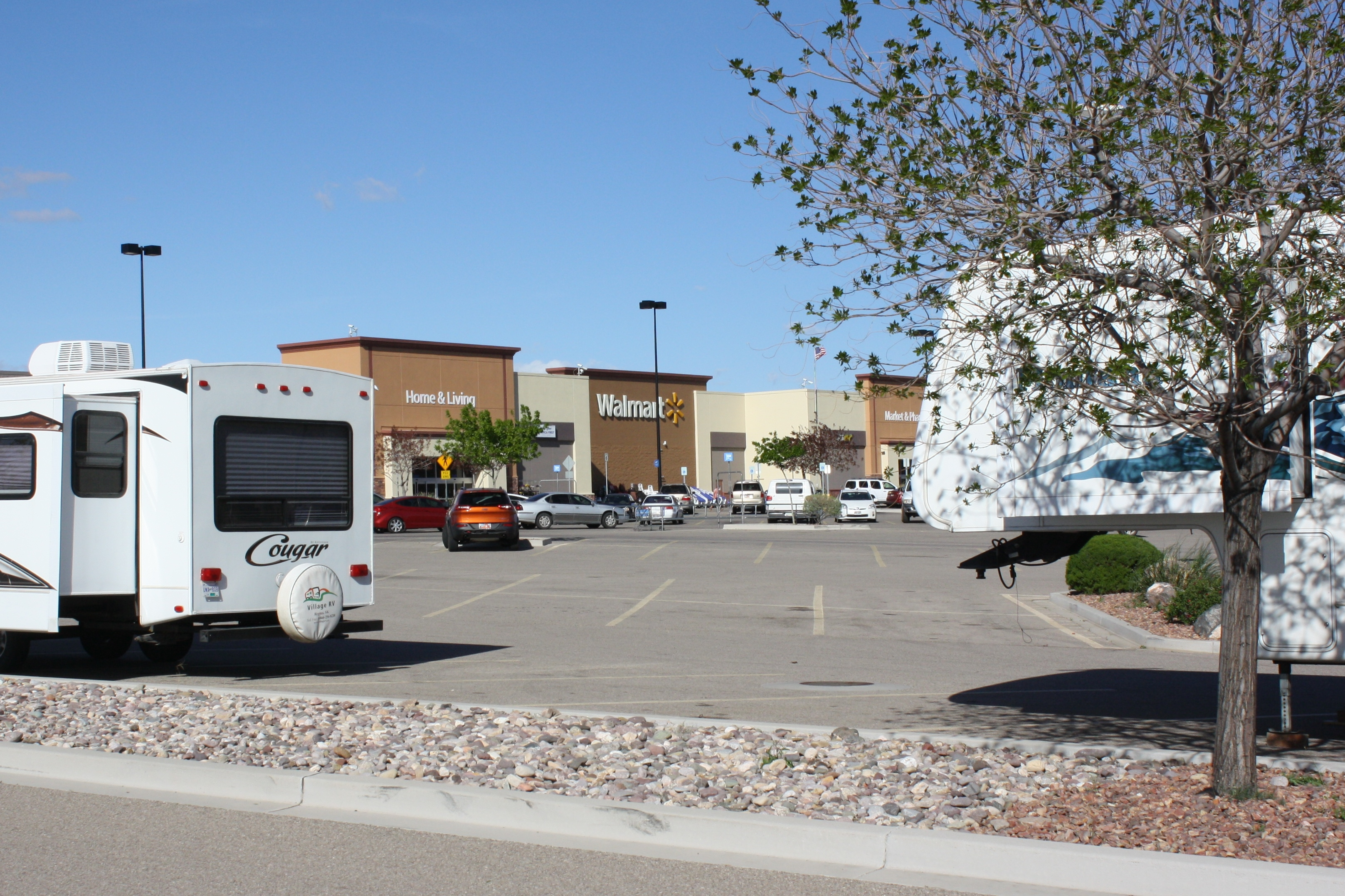 Wal Mart And Its No Frills Overnight Rv Parking St