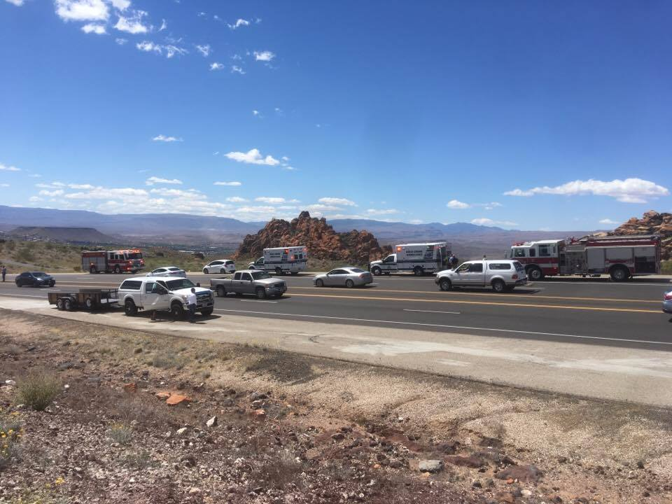 UPDATED: 3 men are killed in fatal SR-18 crash – St George News
