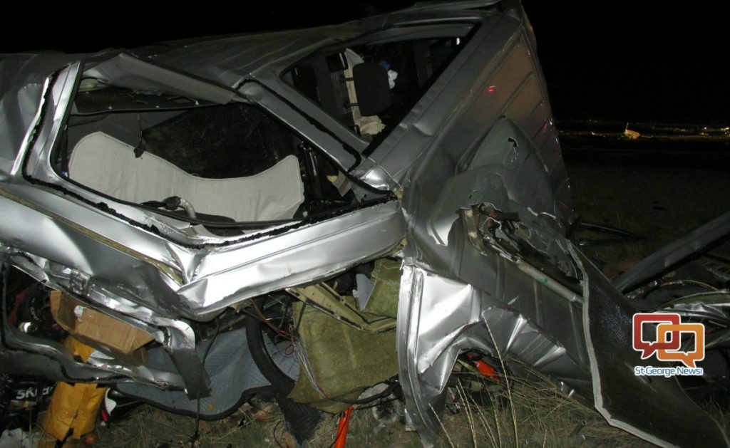 2 killed in i 70 crash in grand county st george news for Mercedes benz st george utah