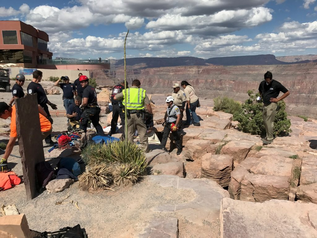 70yearold Woman Falls Into Deep Crack At Grand Canyon  St George News