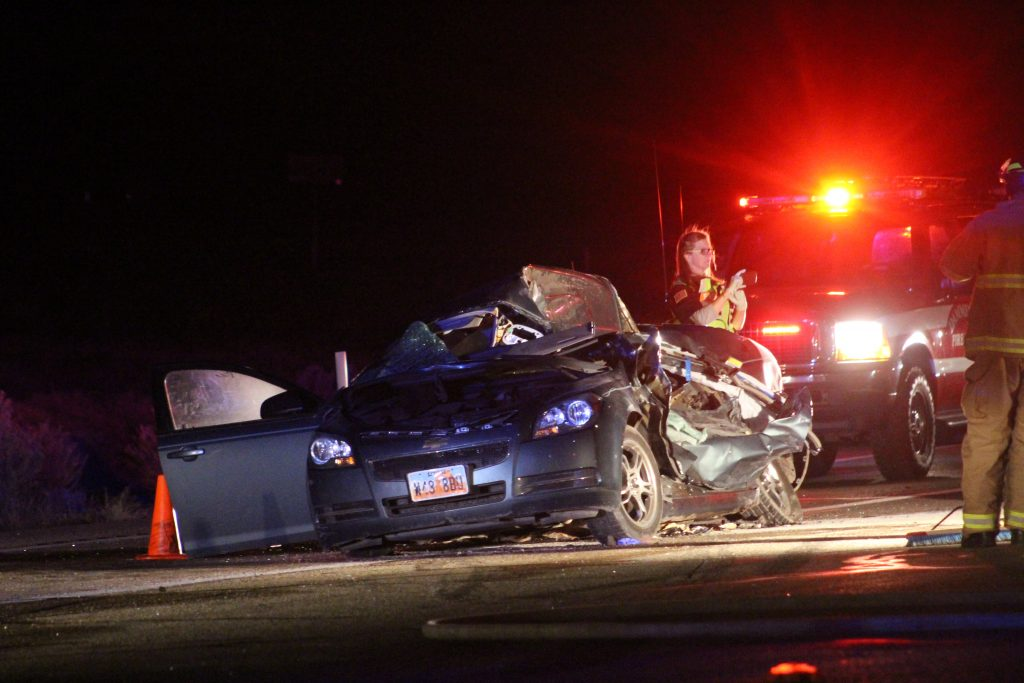 Fatal southern Utah crash on SR 18