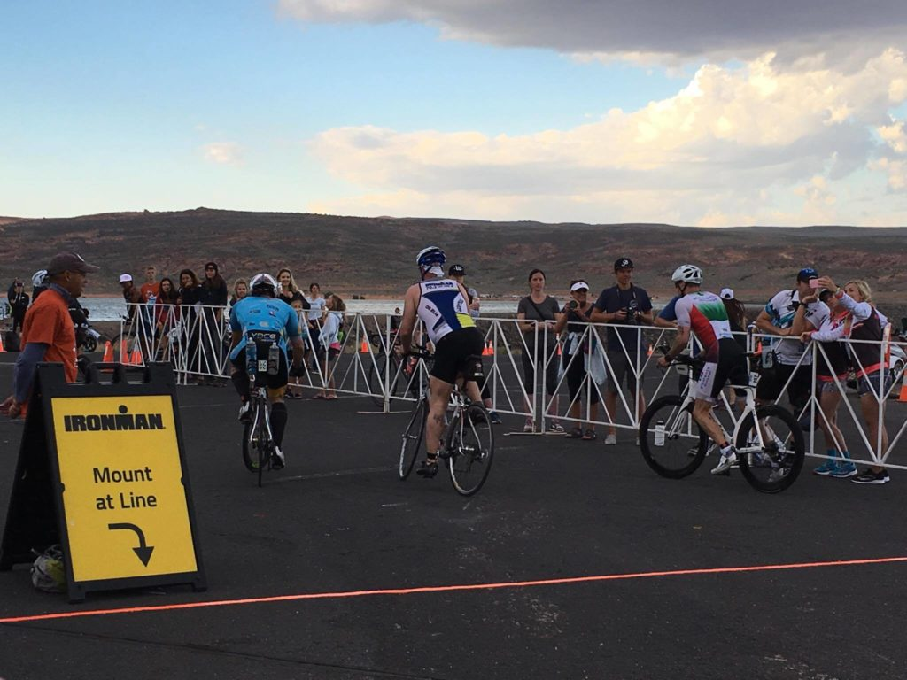 News live ironman 70 3 st george photo gallery st george news for Sand hollow swimming pool st george