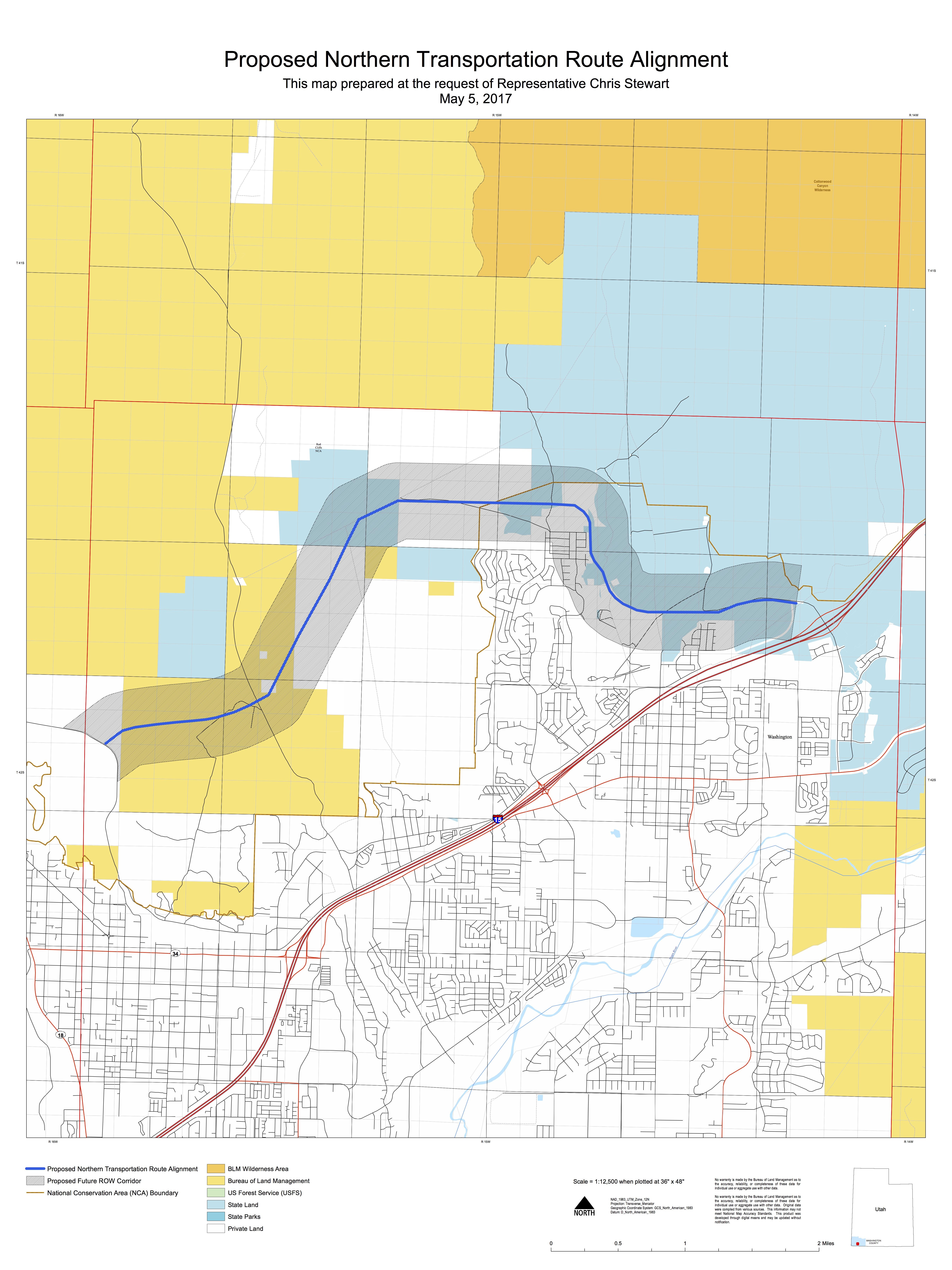 Northern corridor a step closer? Rep. Stewart\'s bill supporting ...