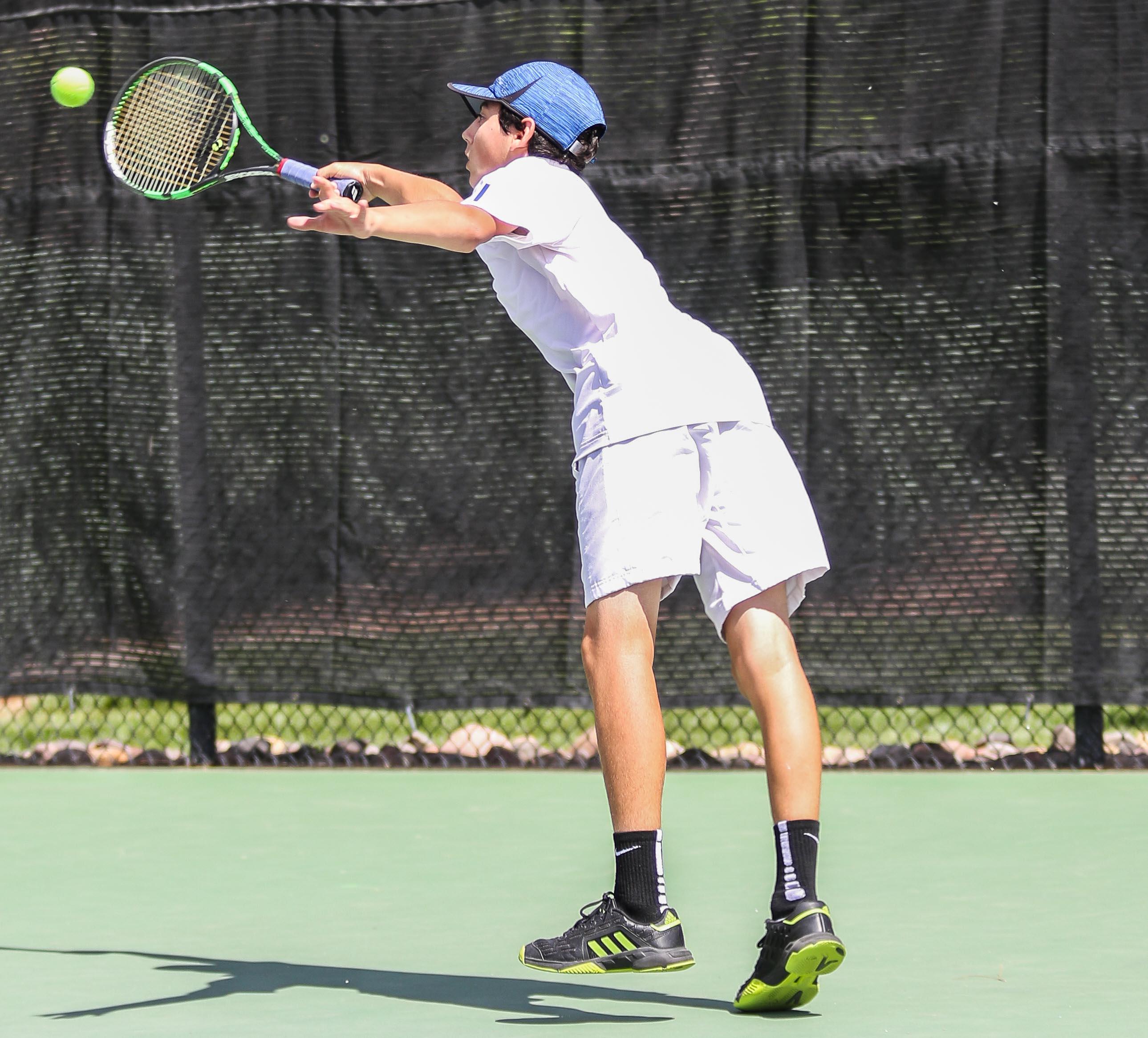 Prep tennis: Warriors take Region 9 team title; Dixie's ...