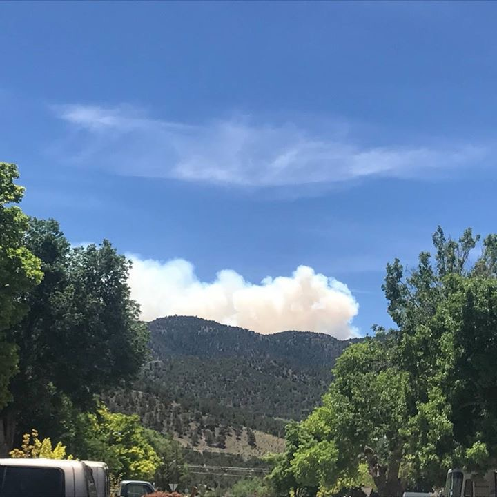 Utah town evacuated as fires spread across state