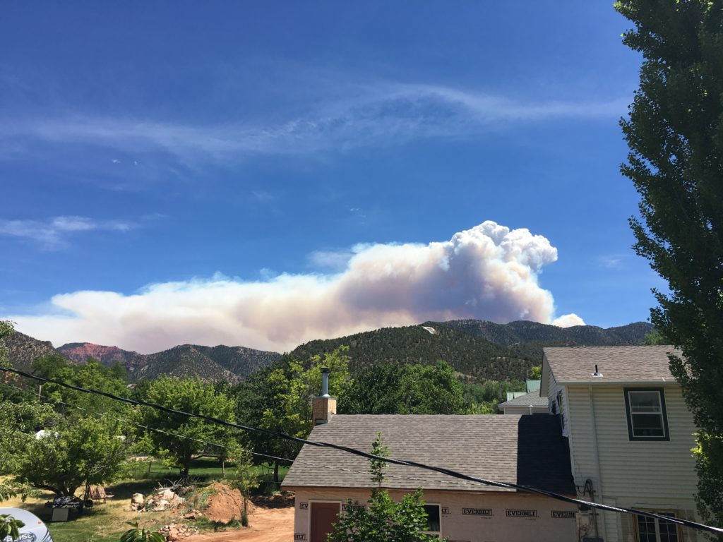 Crews battle wildfire that forced Utah ski town to evacuate