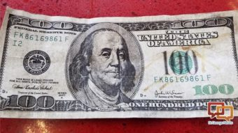 Police Posted A P O On Facebook Thursday Of A Counterfeit 100 Bill P Ed In St George Asking The Public Are You Able To Identify What Is Wrong With