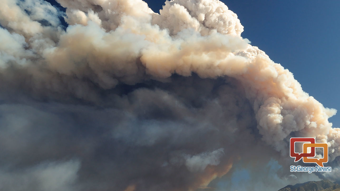 Two rapidly spreading brush fires ignite near Pine Valley ...