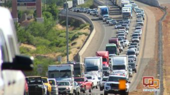 2 crashes back traffic up for miles on I-15 – St George News