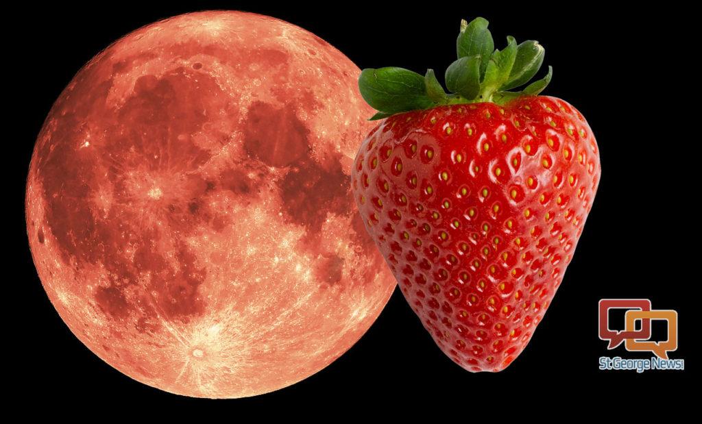 Skywatcher Alert Strawberry Mini Moon To Make