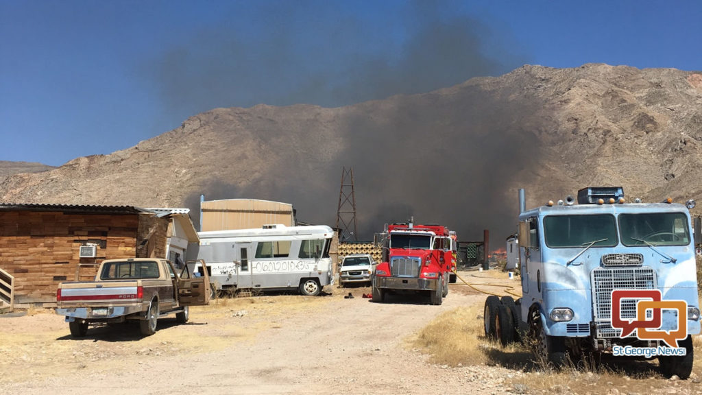 Fire Engulfs Mobile Home In Rural Arizona Community St