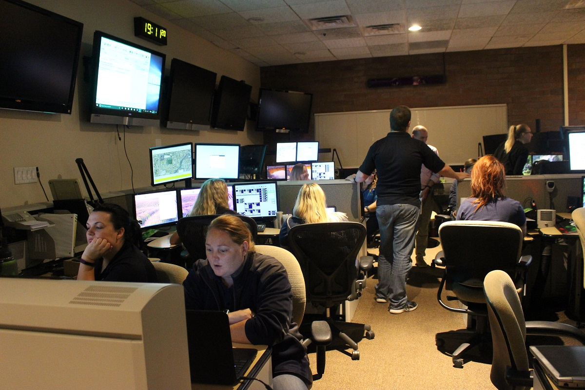 St george 911 launches cutting edge medical dispatch system st emergency dispatchers training at the st george communications center for proqa launch thursday aug 24 2017 photo by cody blowers st george news 1betcityfo Gallery