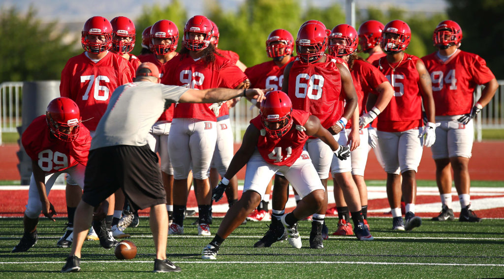 Dixie State Opens Fall Camp With New Field High Hopes For 2017 St