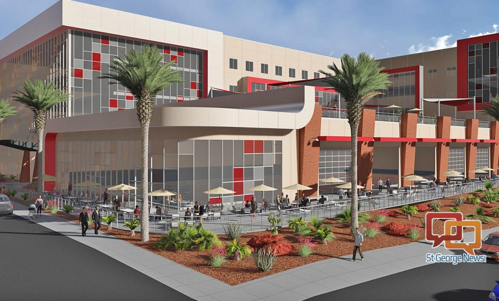 Dixie State Announces Builder Of New Human Performance Center St George News