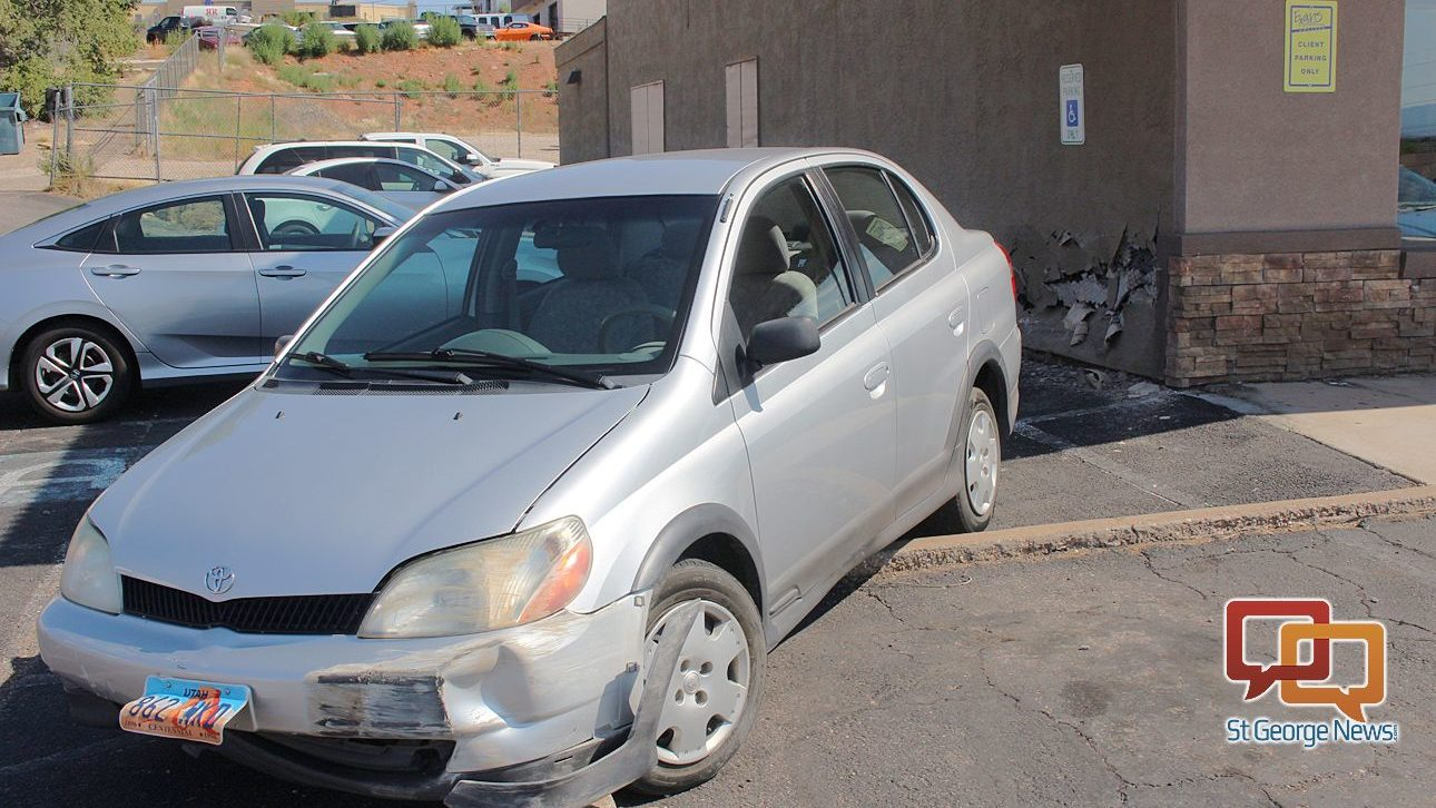 Driver says simple mistake caused him to hit building, other vehicle ...