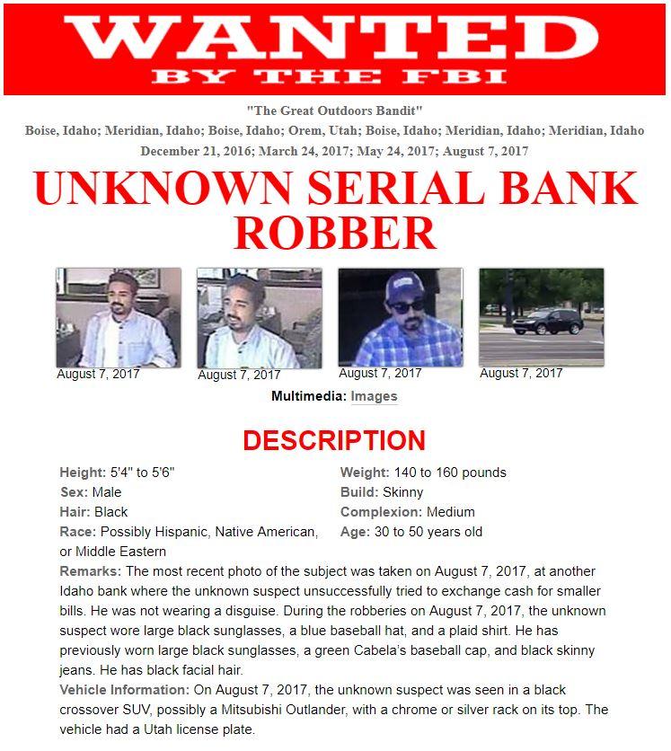 Poster Courtesy Of FBI St George News