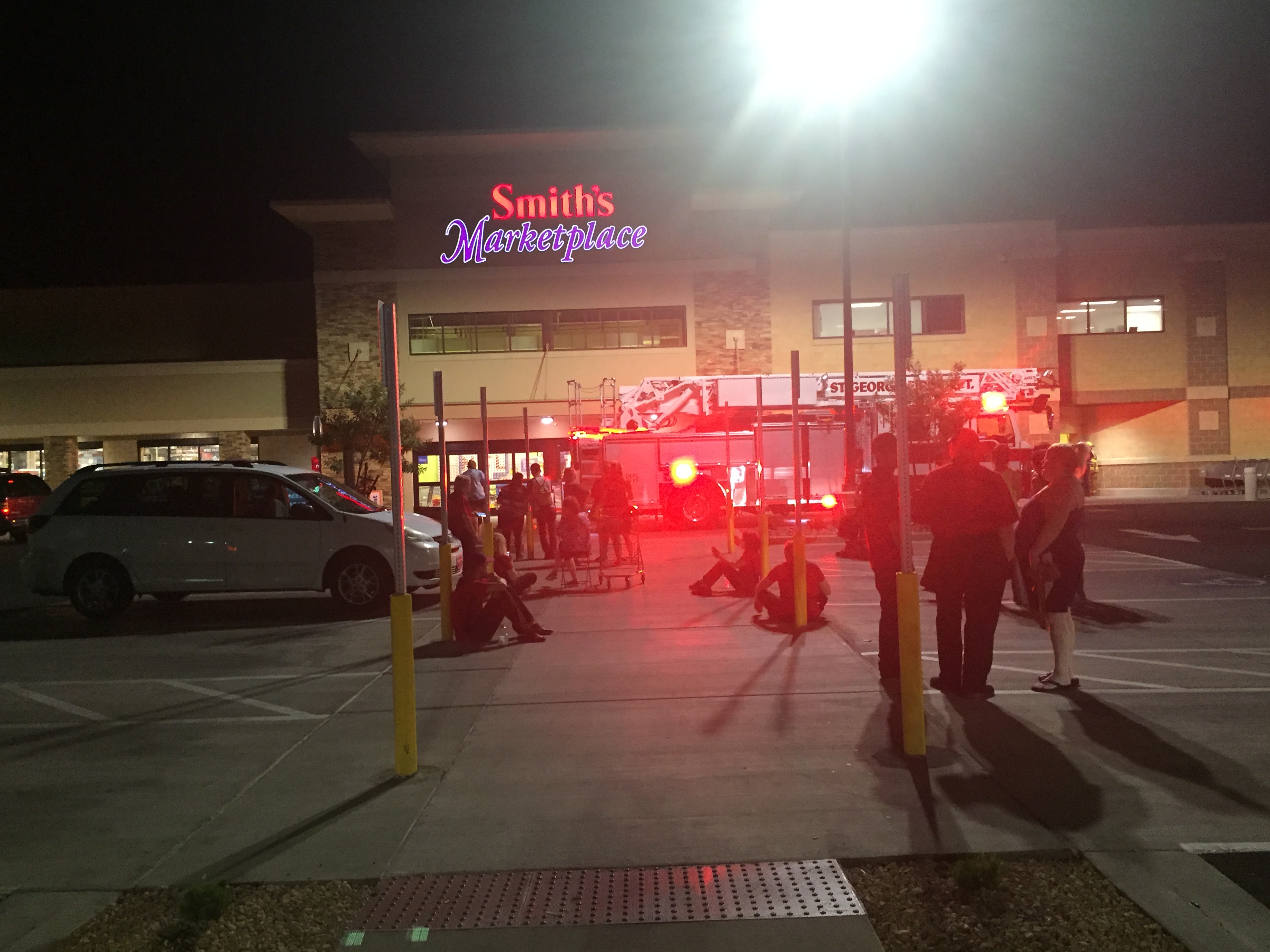Fire Sprinkler System Activation Triggers Evacuation Of