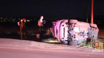 Changing songs leads to crash on Indian Hills Drive – St