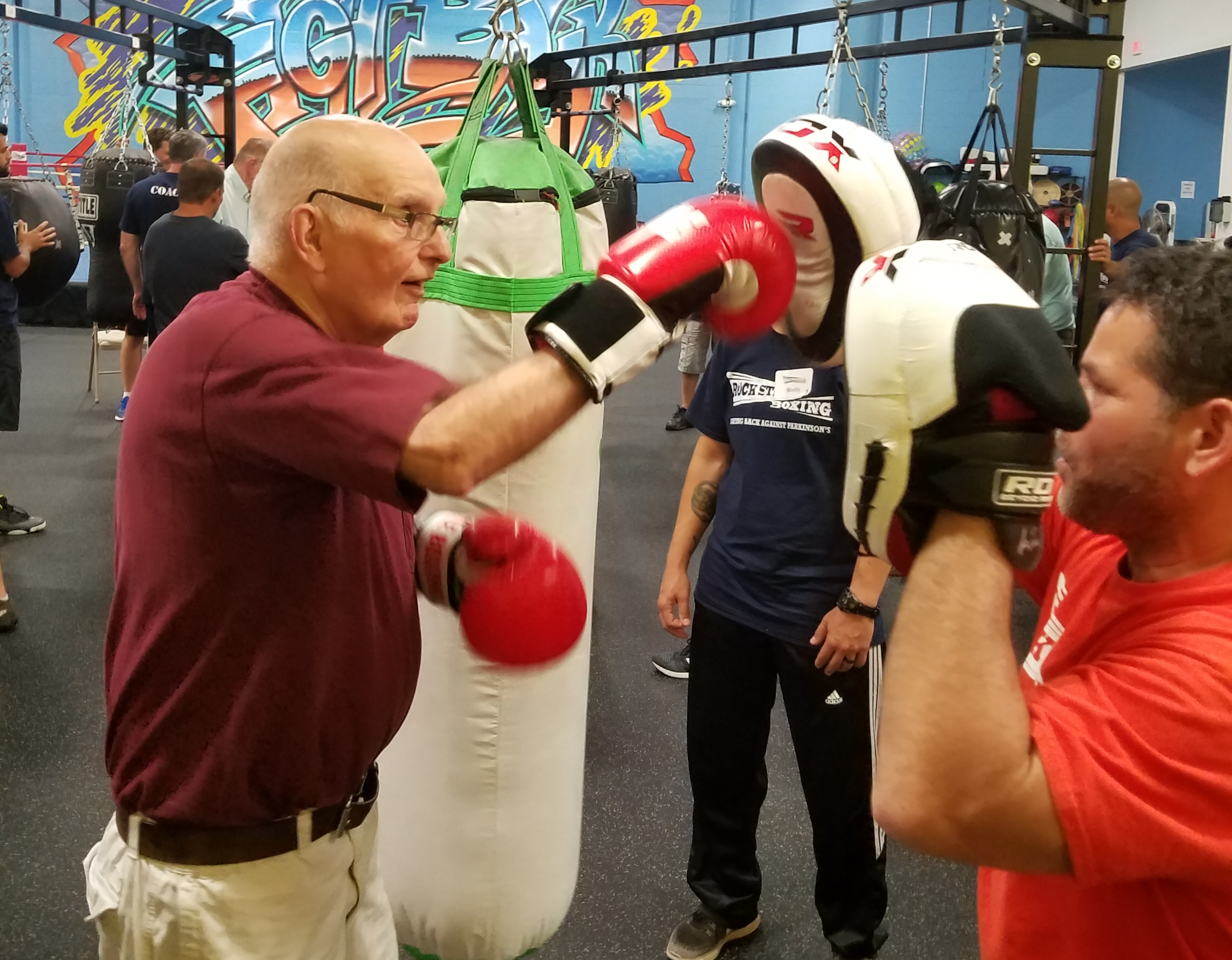 New 'Rock Steady Boxing' program fights Parkinson's ...