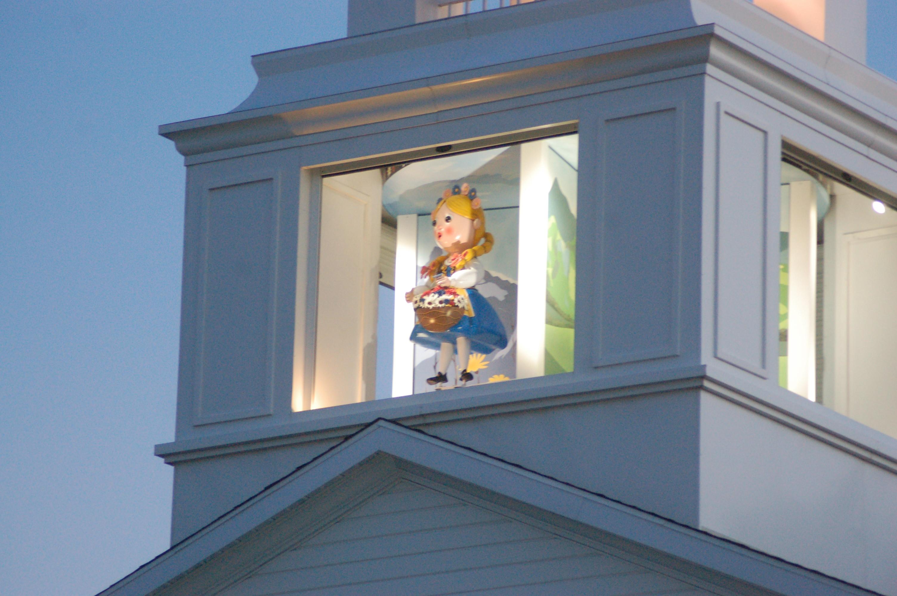 in advance of u0027swiss days u0027 santa clara unveils glockenspiel clock