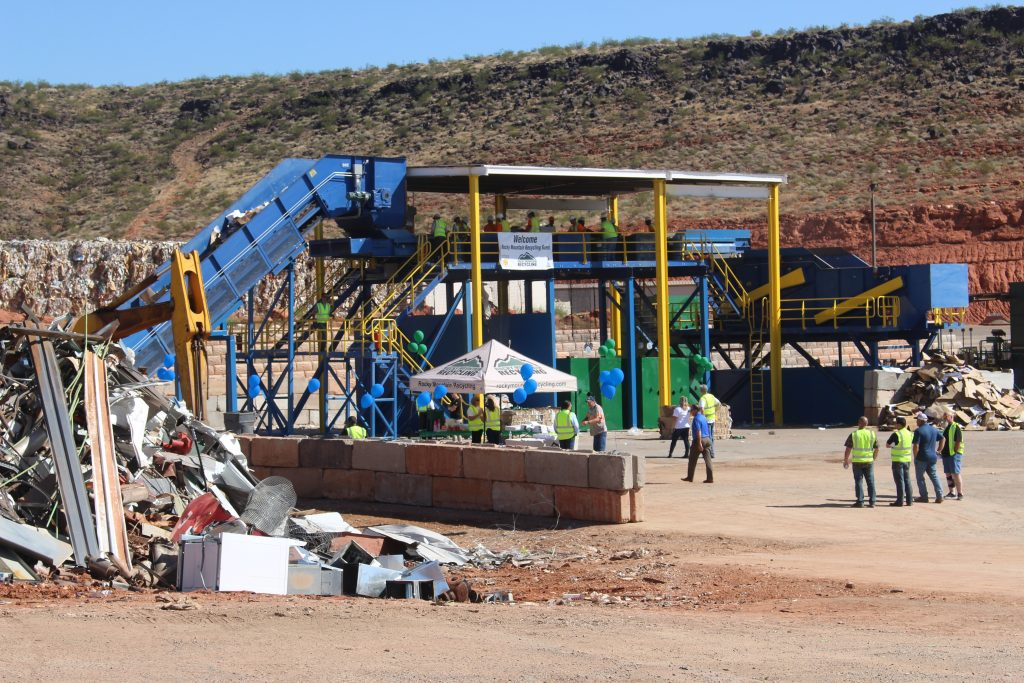 Rocky Mountain Recycling Unveils New Sorting System St