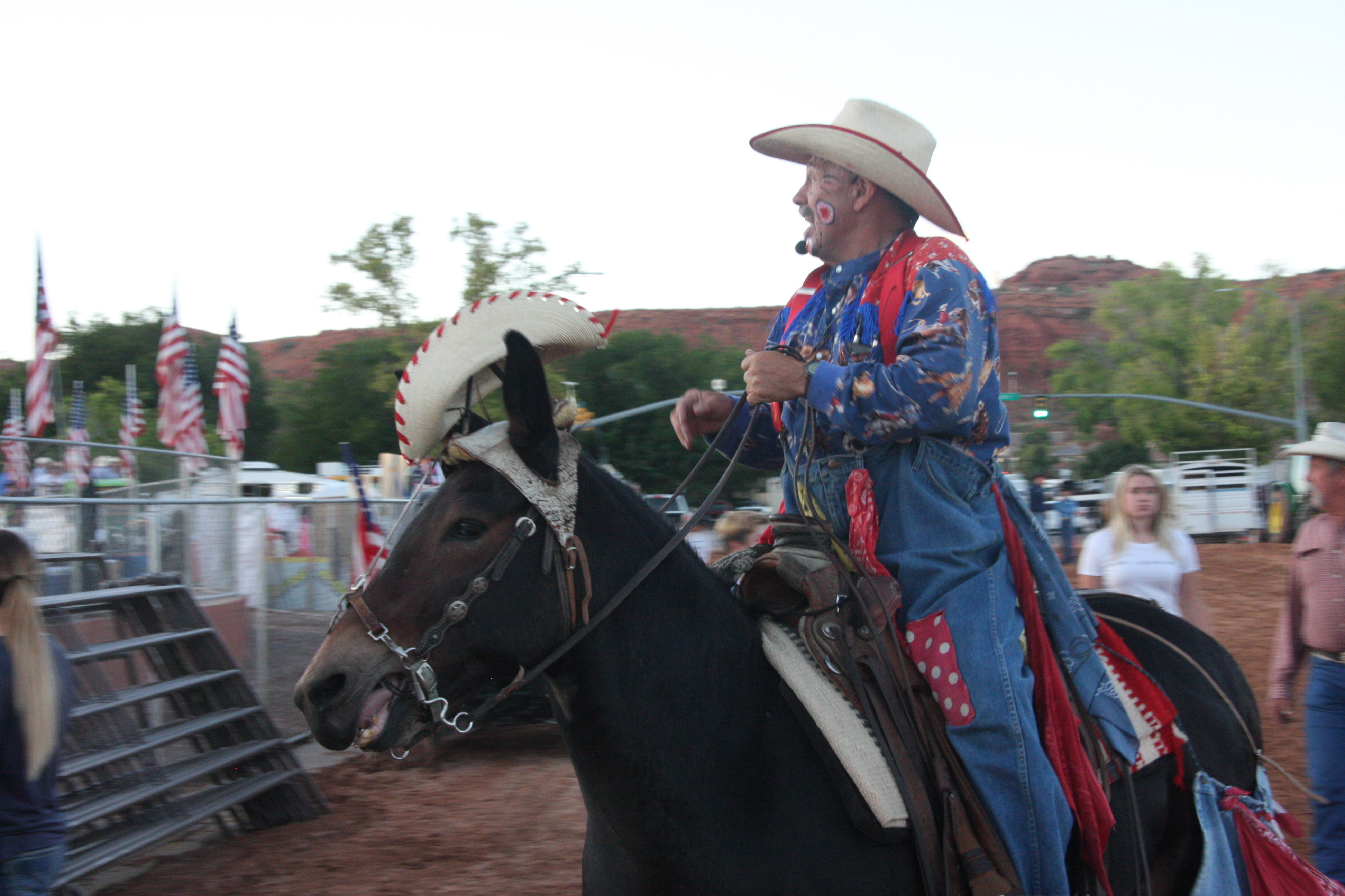 How Important Is A Rodeo Clown To Dixie Roundup Rodeo